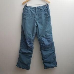 Lands End Snow Blue Squall Pants Kids Size 20/XL